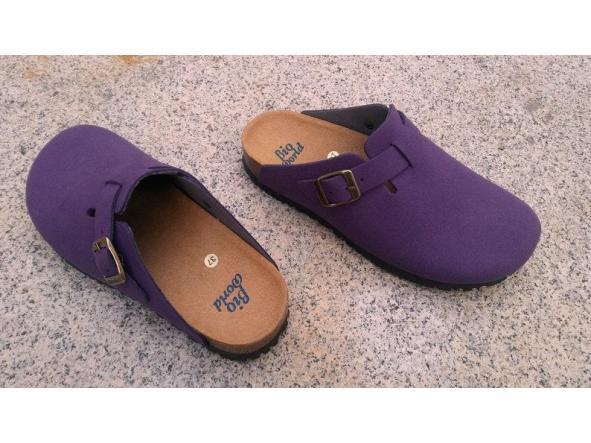 SUOMI PURPLE, Zuecos,  Zapatos veganos, Zapatos de diseño, Zapatos abiertos, Zapatos Planos, zapatos de hombre, zapatos de mujer [3]