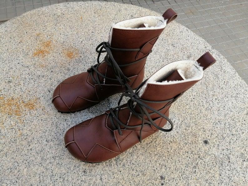 BOSQUE marrón giardini Botas Veganas, Botines Veganos, Zapatos de Invierno, Botas de invierno, botas de mujer, botas de hombres, veganas