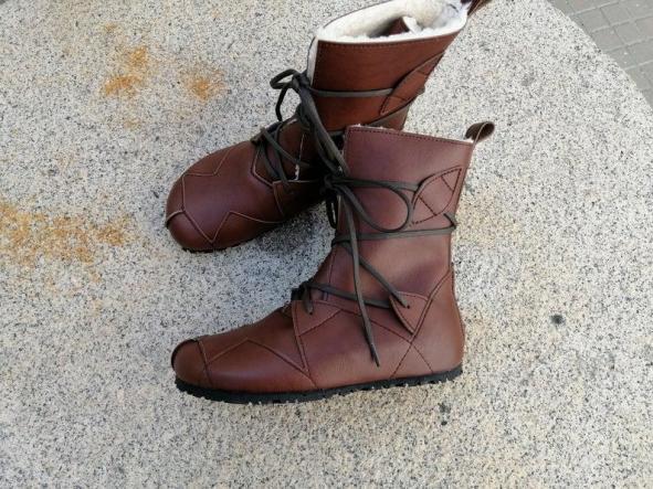 BOSQUE marrón giardini Botas Veganas, Botines Veganos, Zapatos de Invierno, Botas de invierno, botas de mujer, botas de hombres, veganas [1]