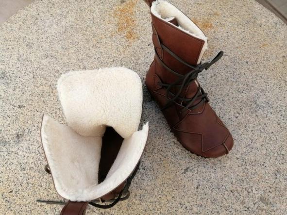BOSQUE marrón giardini Botas Veganas, Botines Veganos, Zapatos de Invierno, Botas de invierno, botas de mujer, botas de hombres, veganas [3]