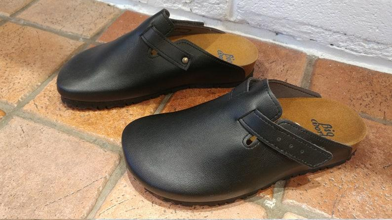 SUOMI NEGRO, Zuecos,  Zapatos veganos, Zapatos de diseño, Zapatos abiertos, Zapatos Planos, zapatos de hombre, zapatos de mujer