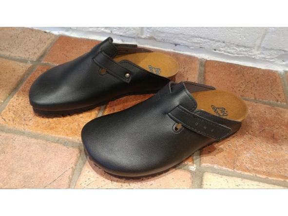 SUOMI NEGRO, Zuecos,  Zapatos veganos, Zapatos de diseño, Zapatos abiertos, Zapatos Planos, zapatos de hombre, zapatos de mujer [1]