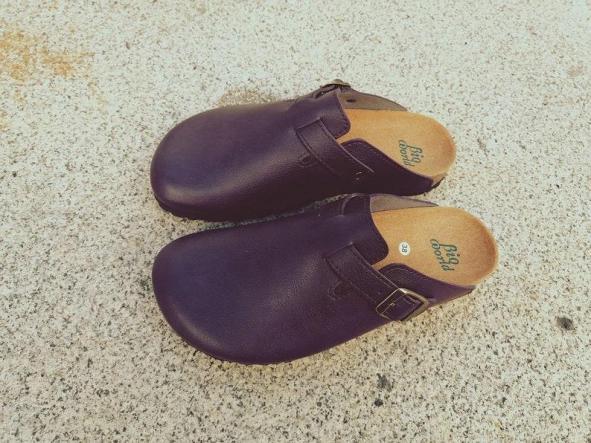 SUOMI PÚRPURA, Zuecos,  Zapatos veganos, Zapatos de diseño, Zapatos abiertos, Zapatos Planos, zapatos de hombre, zapatos de mujer [3]