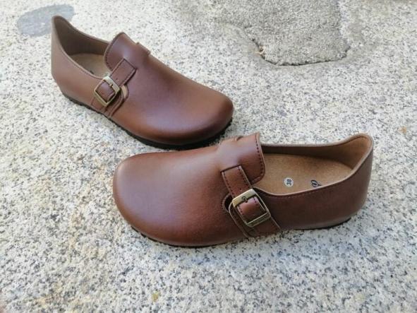 OSLO MARRÓN  Zapatos veganos, Zapatos de diseño, Zapatos cerrados, Zapatos Planos, zapatos de hombre, zapatos de mujer [1]