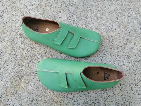 MODELO STRADIVARIUS VERDE Zapatos veganos, Zapatos de diseño, Zapatos cerrados, Zapatos Planos, zapatos de hombre, zapatos de mujer [0]