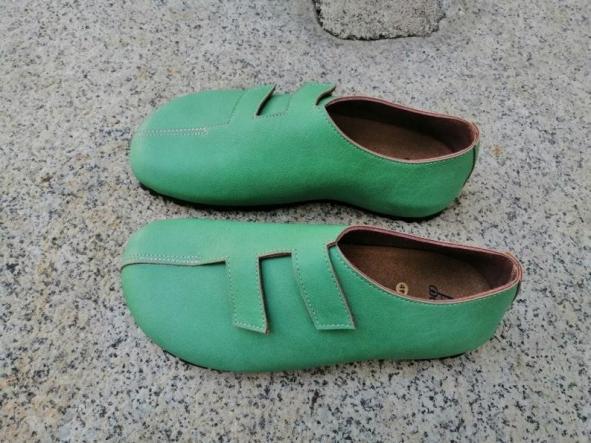 MODELO STRADIVARIUS VERDE Zapatos veganos, Zapatos de diseño, Zapatos cerrados, Zapatos Planos, zapatos de hombre, zapatos de mujer [3]