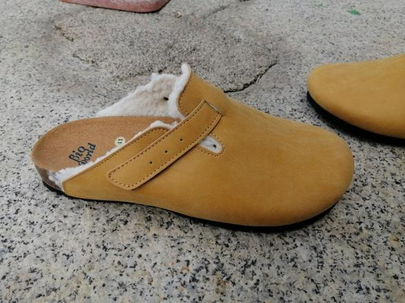 Finlandia Camel, Zuecos,  Zapatos veganos, Zapatos de diseño, Zapatos abiertos, Zapatos Planos, zapatos de hombre, zapatos de mujer [2]
