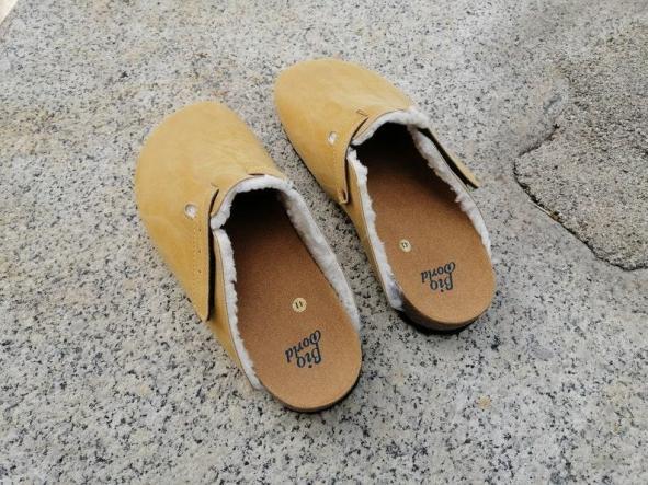 Finlandia Camel, Zuecos,  Zapatos veganos, Zapatos de diseño, Zapatos abiertos, Zapatos Planos, zapatos de hombre, zapatos de mujer [3]