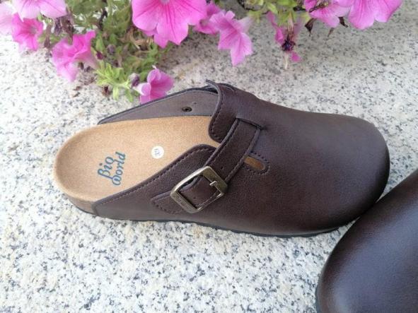 Suomi Marrón oscuro, Zuecos,  Zapatos veganos, Zapatos de diseño, Zapatos abiertos, Zapatos Planos, zapatos de hombre, zapatos de mujer [2]