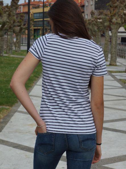 Camiseta Marine manga corta mujer [2]