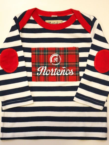 Camiseta de bebé manga larga Marine Escocia [1]