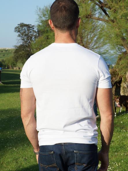 Camiseta La Bretaña color blanco [1]