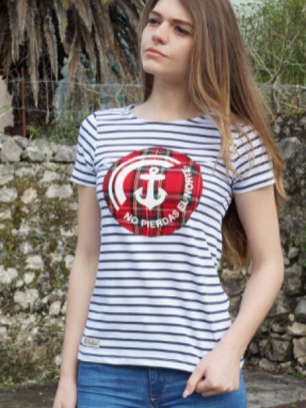 Camiseta Marine manga corta mujer