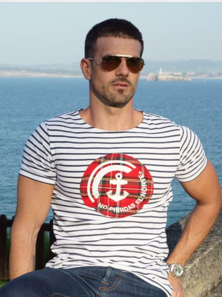 Camiseta Marine No pierdas el Norte