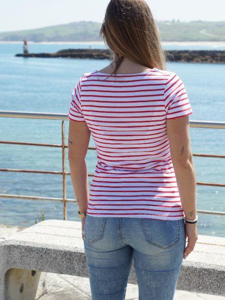 Camiseta marinera de mujer No pierdas el Norte [2]