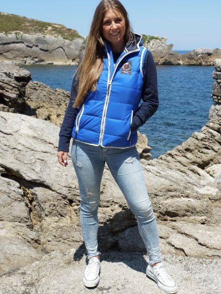 Chaleco de mujer marítimo acolchado No pierdas el Norte [3]