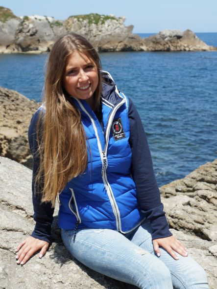 Chaleco de mujer marítimo acolchado No pierdas el Norte [2]