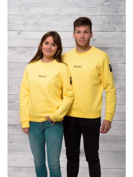 Sudadera unisex Norteños amarilla [1]