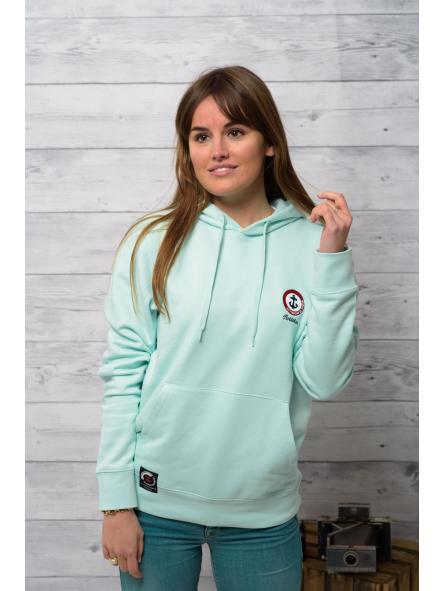 Sudadera de capucha color Mint  [1]