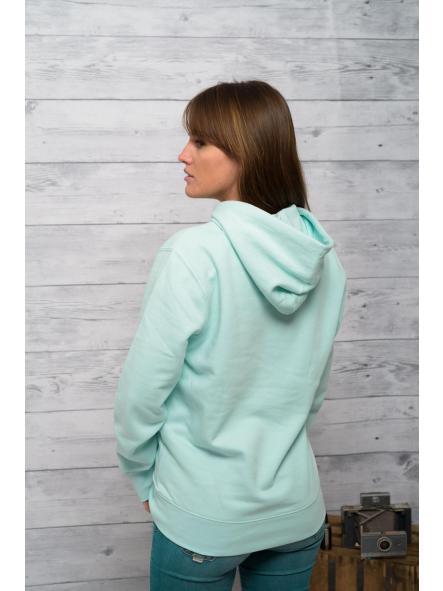 Sudadera de capucha color Mint  [3]