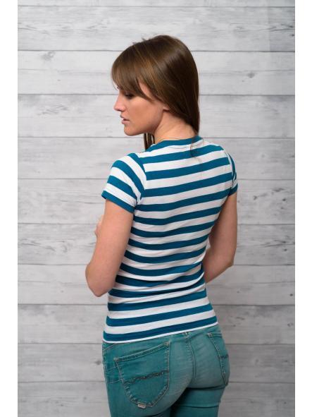 Camiseta marinera de mujer No pierdas el Norte [1]