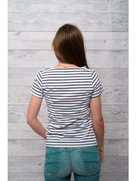 Camiseta marine manga corta estampado floral [3]