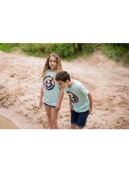 Camiseta verde agua No pierdas el Norte [2]