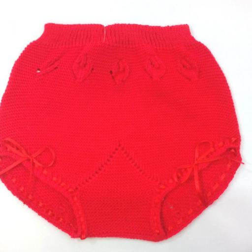 Braga de perle de niña en rojo de Yoedu.