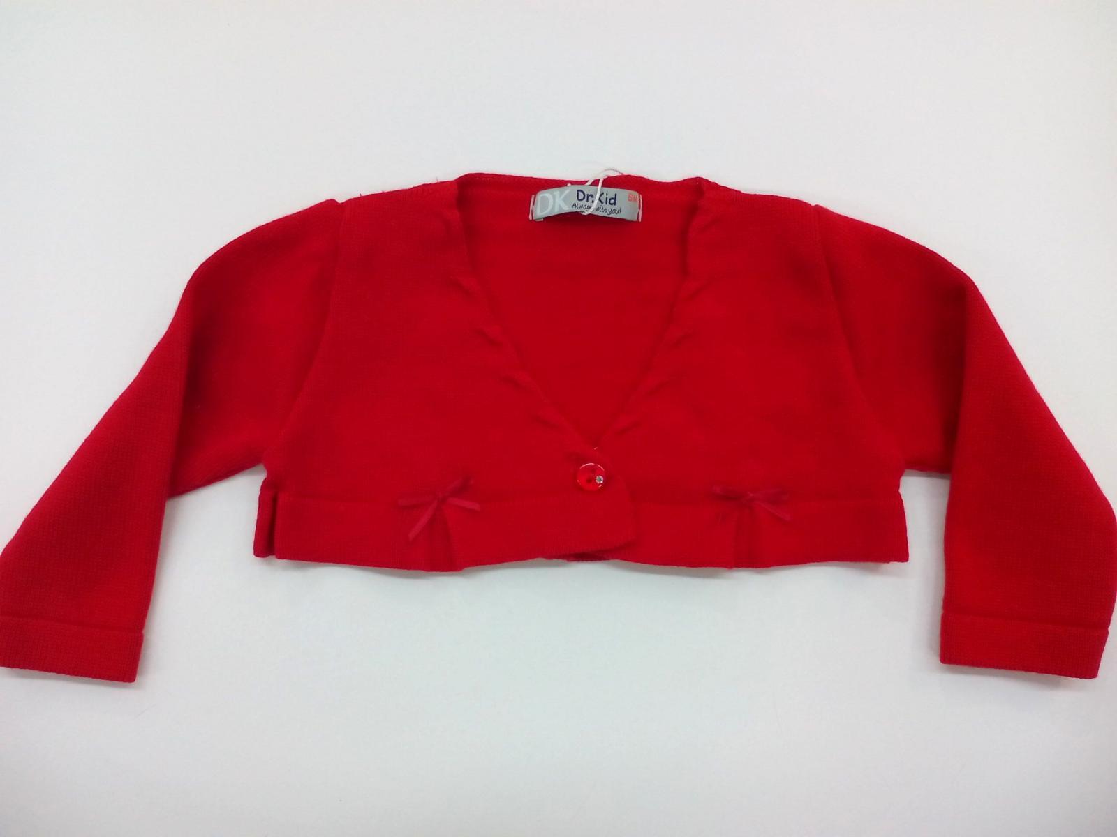 Chaqueta de niña en rojo de perle de Dr. Kid.