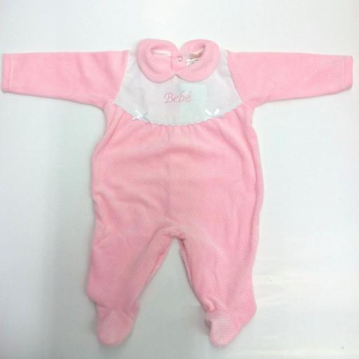 Pijama bebé motas de Popys
