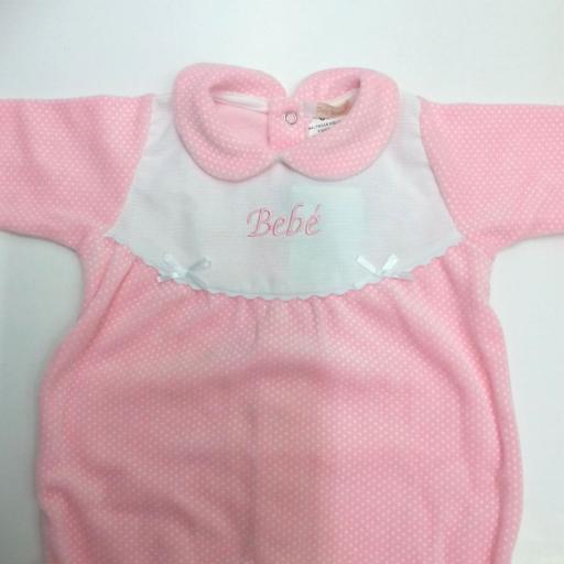 Pijama bebé motas de Popys [1]