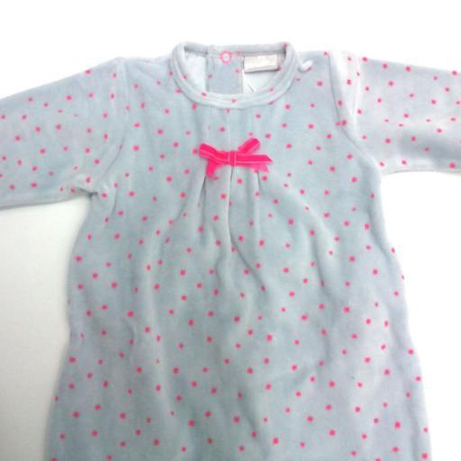 Pijama bebé gris con estrellas de Piruleta  [1]