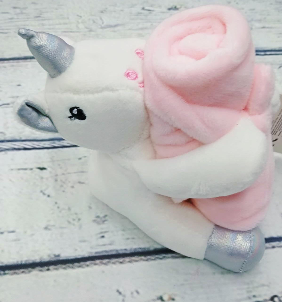 Dou dou bebé Unicornio rosa de Inca.