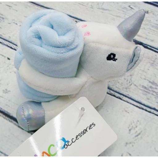 Dou dou bebé Unicornio azul de Inca.