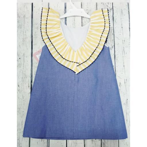 Vestido de niña de la familia Girasol de Yoedu. [3]