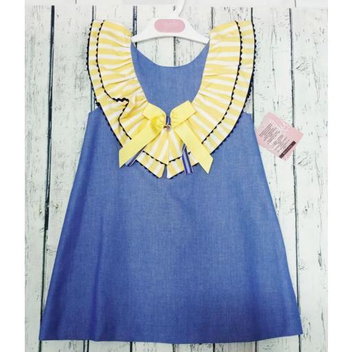 Vestido de niña de la familia Girasol de Yoedu. [2]