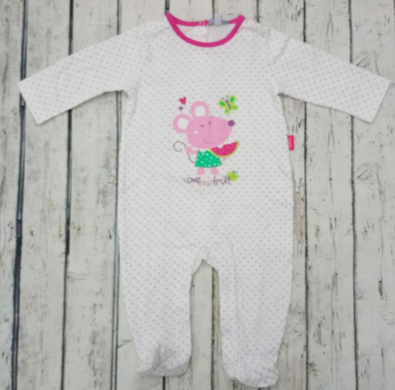 Pijama de bebé motas Lilas de Yatsi.
