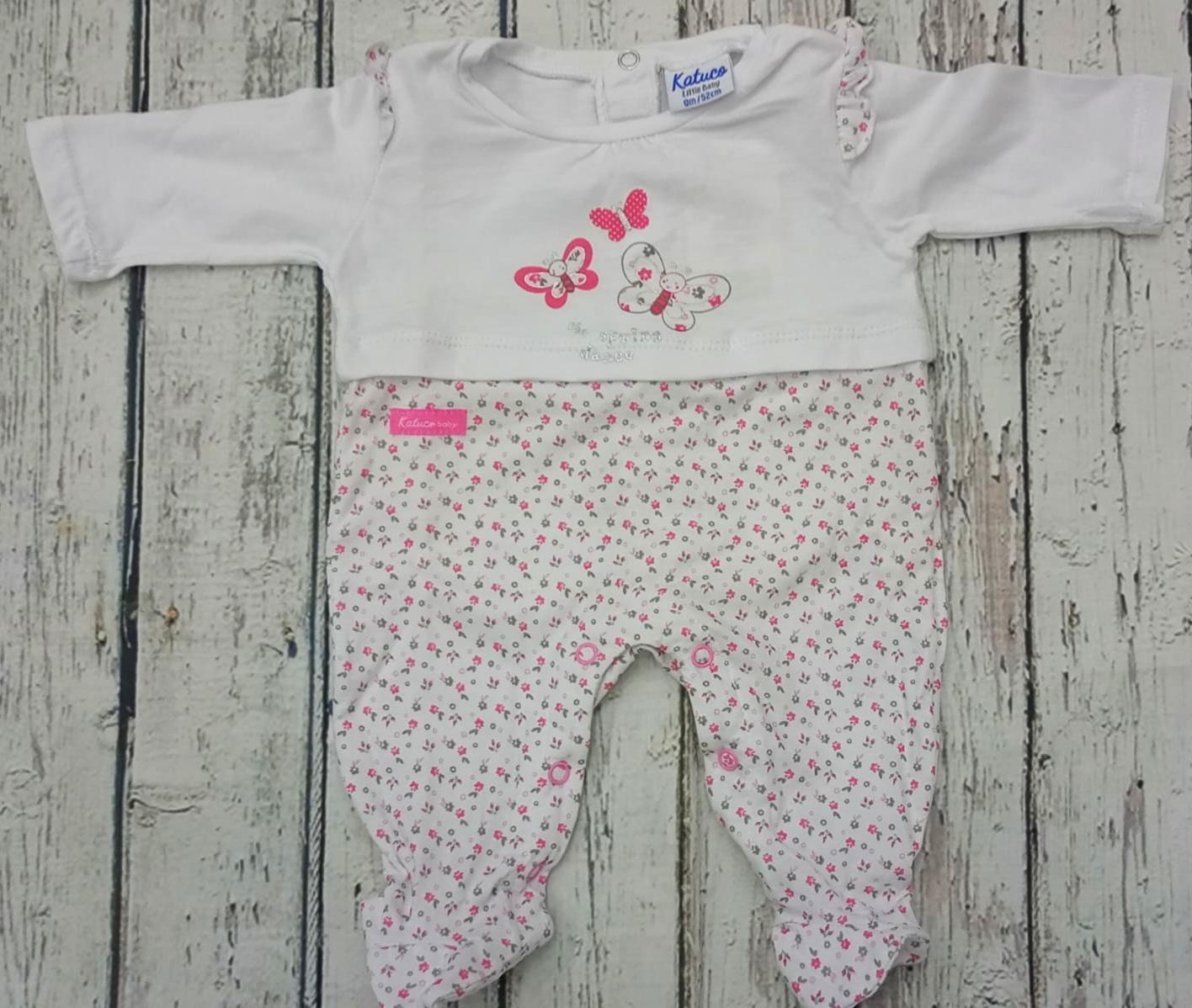 Pijama de bebé Mariposas de Yatsi.