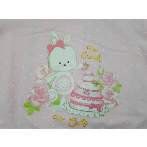 Pijama de bebé Rosa de Yatsi. [1]