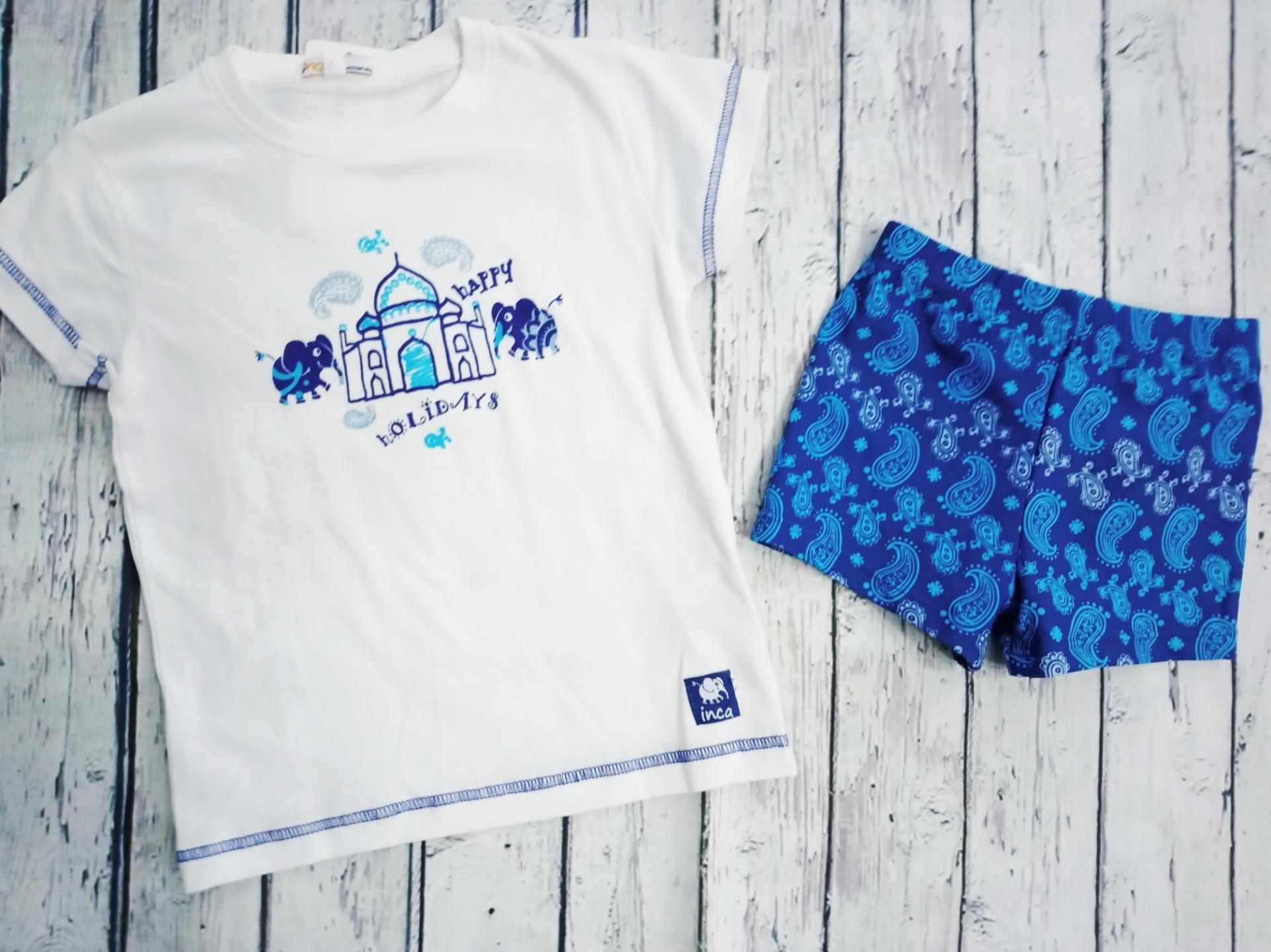Conjunto de Camiseta con bañador de niño MAJAL de Inca.
