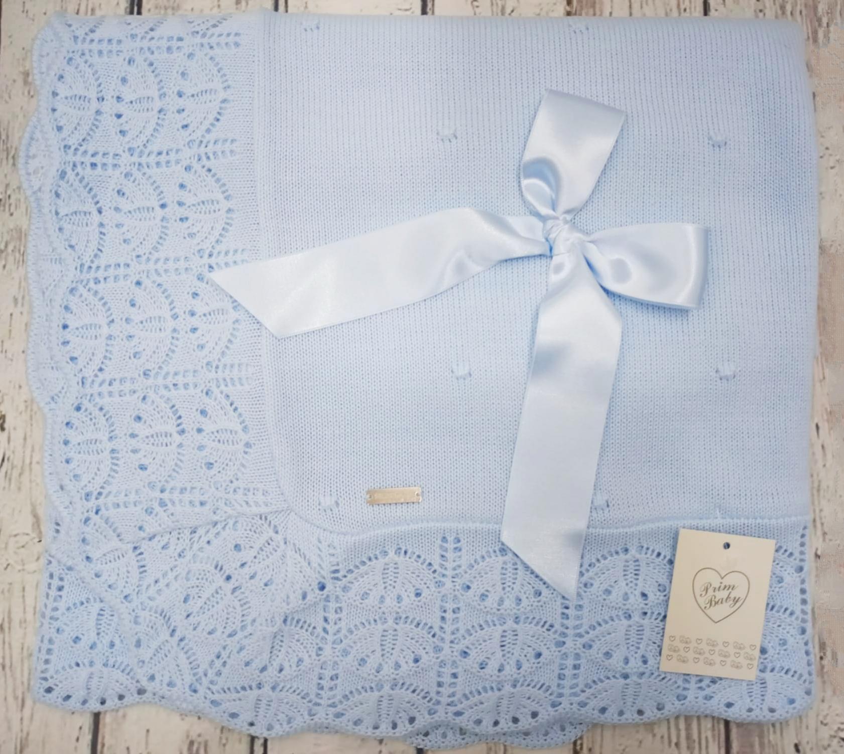 Toquilla Bebé Azul  de Prim Baby.