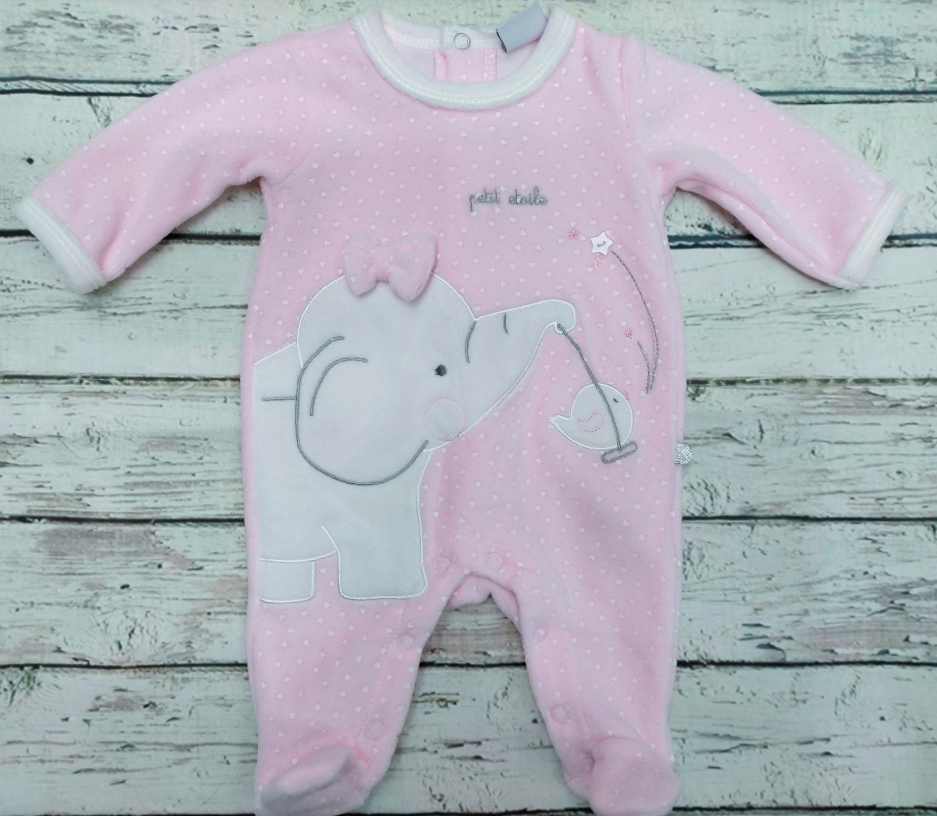 Pijama bebé niña Elefante de Yatsi.