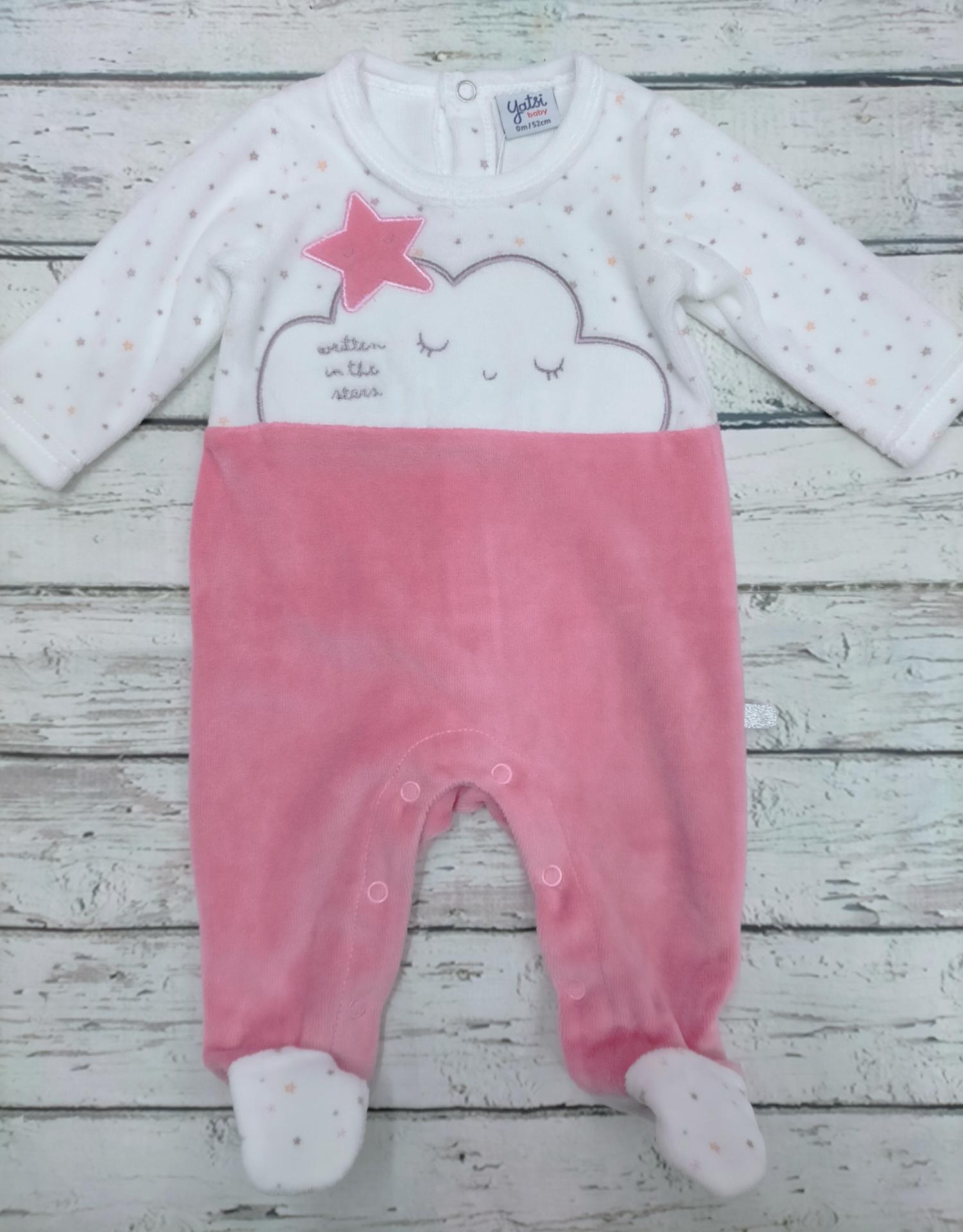 Pijama bebé niña Nube de Yatsi.