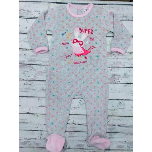 Pijama bebé Superhéroe de Yatsi.