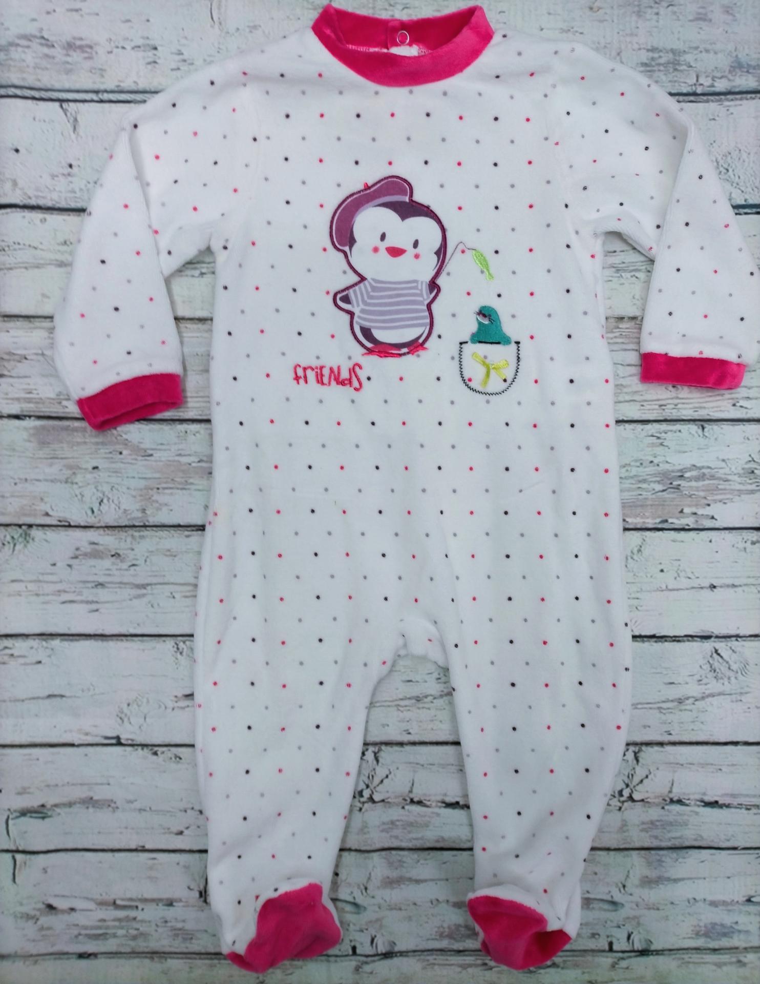 Pijama bebé niña Pinguino de Yatsi.