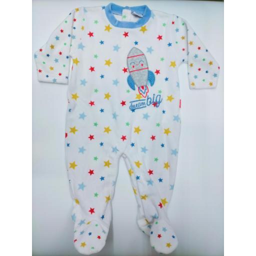 Pijama bebé niño cohete de Yatsi.
