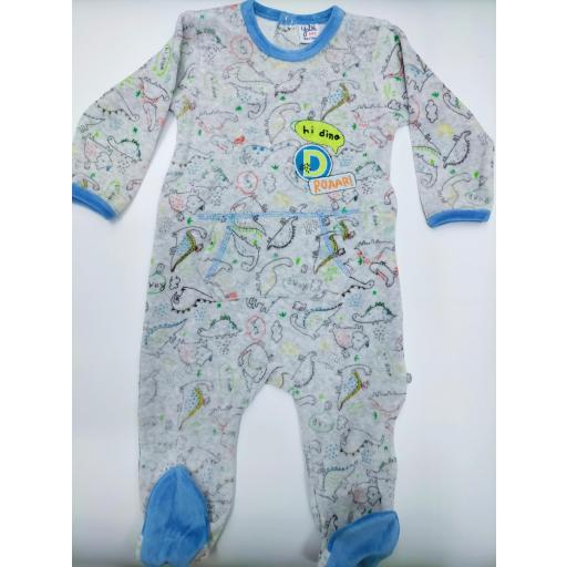 Pijama bebé Dinosaurios de Yatsi.