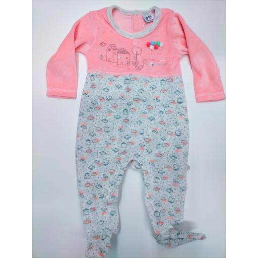 Pijama bebé Casita de Yatsi.