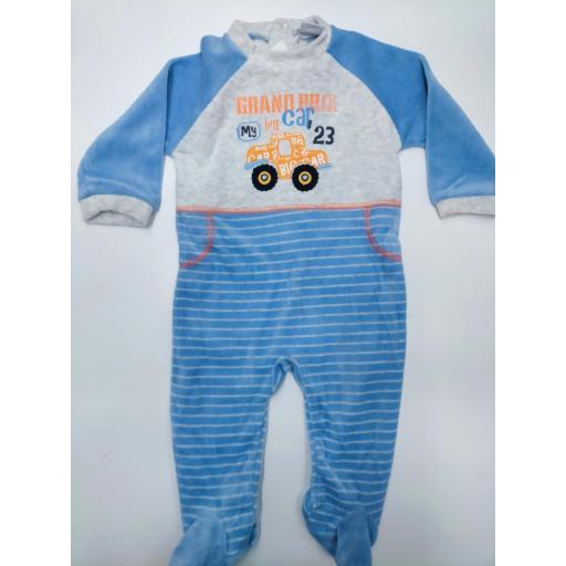 Pijama bebé Tractor de Yatsi.