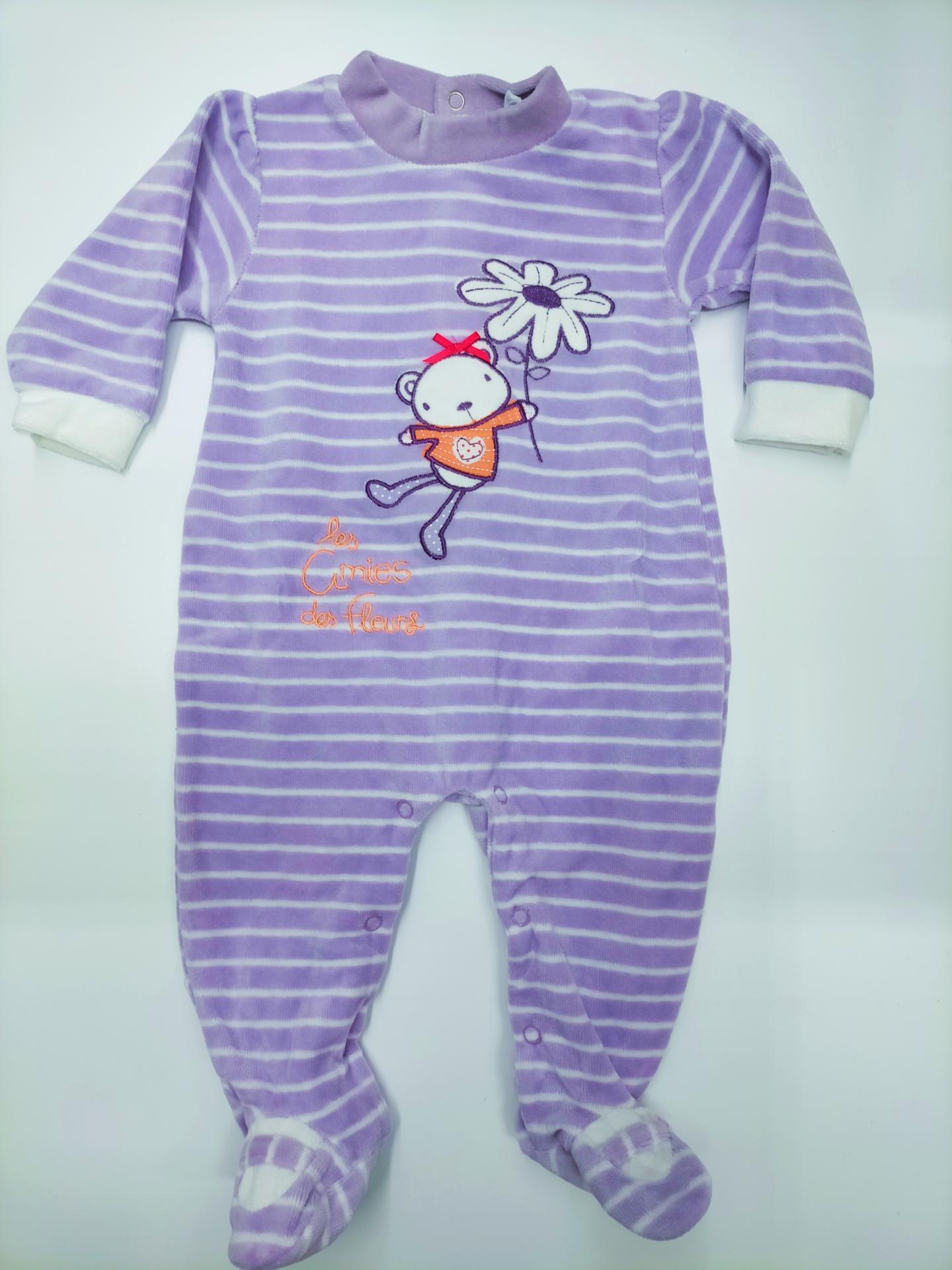 Pijama bebé niña Lila de Yatsi.